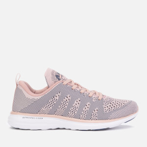 Athletic Propulsion Labs Women's Techloom Pro Trainers - Peach Puree/Grisaille/White