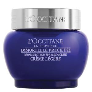 L'Occitane Immortelle Precious Light Cream SPF 20 (Net Wt. 1.7 oz.)