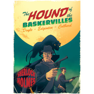 Hound of the Baskervilles: A Sherlock Holmes Graphic Novel (Paperback)