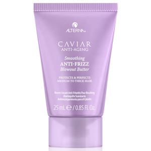 Alterna CAVIAR Anti-Ageing Smoothing Anti-Frizz Blowout Butter 0.85oz (Free Gift)