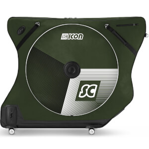 Scicon AeroComfort Road 3.0 TSA Bike Bag - Limited Edition - Stelvio - Racing Green