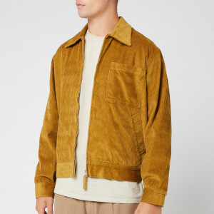 Universal Works Men's Rose Bowl Wale Cord Jacket - Mustard