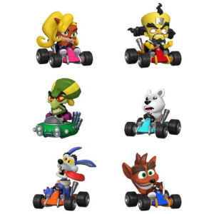 Crash Team Racing Nitro Fueled Figura Mystery Mini