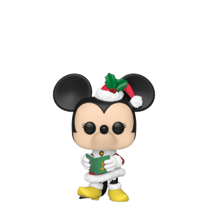 Figurine Pop! Minnie - Disney Noël