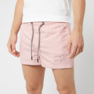 Superdry Men's Sorrento Pastel Swim Shorts - Sorrento Pink
