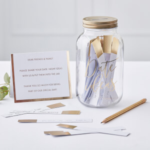 Ginger Ray Date Night Jar