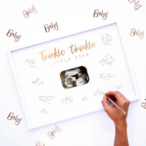 Ginger Ray Twinkle Twinkle Guest Book Frame