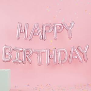 Ginger Ray Happy Birthday Balloon Bunting