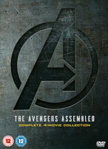 Avengers 1-4 coffret DVD