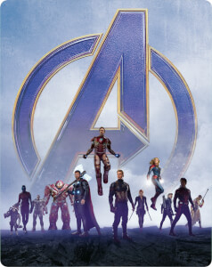 Avengers: Endgame - Steelbook 4K Ultra HD Exclusif Zavvi (Blu-ray 2D inclus)