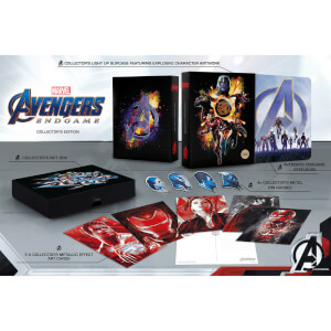 Avengers : Endgame 4K Ultra HD Zavvi Exklusives Steelbook Sammleredition (Inkl. 2D Blu-ray)