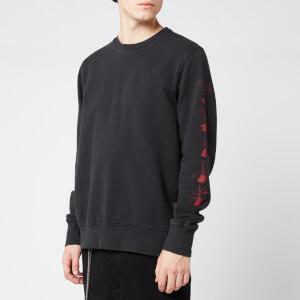 Ksubi Men's Opposite of Opposite Crew Neck Sweatshirt - Black