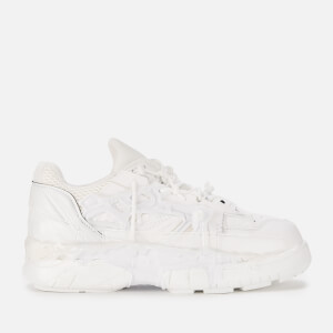 Maison Margiela Men's Fusion Low Top Trainers - White Mix