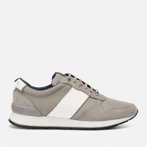 Ted Baker Men's Lhennis Textile/Nubuck Running Style Trainers - Grey
