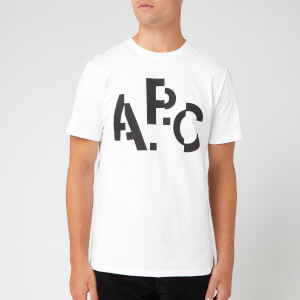 A.P.C. Men's Decale T-Shirt - Blanc
