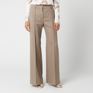 See By Chloé Women's Flare Trousers - Cinder Beige