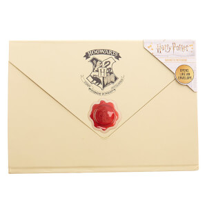 Harry Potter Envelope Notebook - Cream
