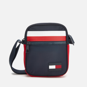 Tommy Hilfiger Men's Sport Mix Mini Reporter Bag - Corporate