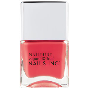 nails inc. NailPure More Self Love Pls Nail Varnish 14ml