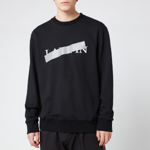Lanvin Men's Lanvin Barre Sweatshirt - Black