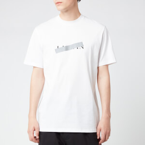 Lanvin Men's Lanvin Barre Slim Fit T-Shirt - White