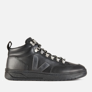 Veja Women's Roraima Leather Hiking Style Boots - Black/Grafite/Black