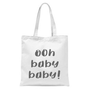 Ooh Baby Baby Tote Bag - White