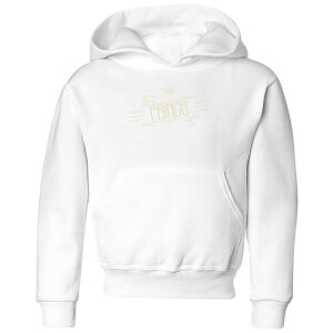 My Little Prince Kids' Hoodie - White