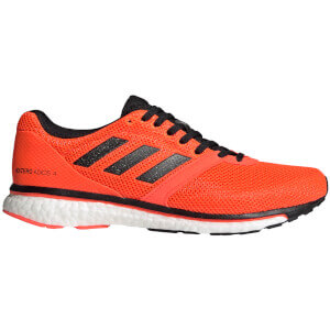 adidas Adizero Adios 4 Running Shoes - Red