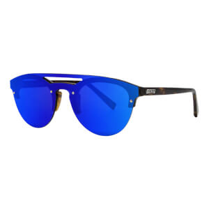 Scicon Cover Sunglasses Blue Multimirror Lens - Demi Gloss Frame