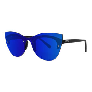 Scicon Phantom Sunglasses Blue Multimirror Lens - Black Gloss Frame