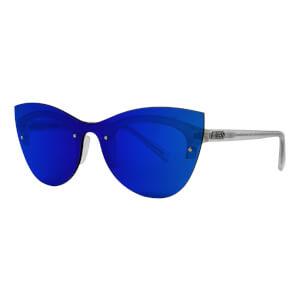 Scicon Phantom Sunglasses Blue Multimirror Lens - Frozen White Frame