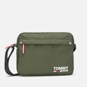 Tommy Jeans Men's Cool City East West Cross Body Bag - Olive Night