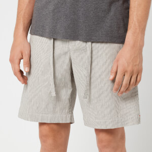 Orlebar Brown Men's Harton Stripe Shorts - Pewter/Shell
