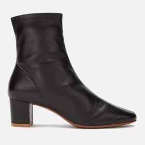 by FAR Women's Sofia Leather Heeled Boots - Black