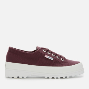 Superga Women's 2555 Cotu Alpina Trainers - Red Dark Wine