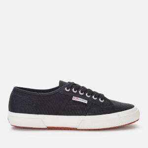 Superga Men's 2750 Cotu Classic Trainers - Black/White