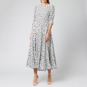 RIXO Women's Agyness Dress - Polka Dot