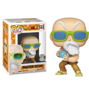 Dragon Ball Super - Maestro Muten Max Power Figura Pop! Vinyl Esclusiva