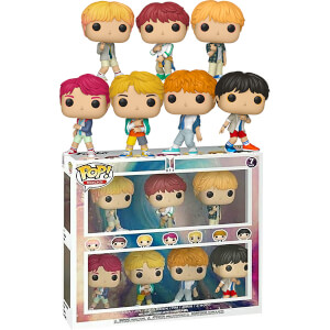 Pop! Rocks BTS 7-Pack EXC Pop! Vinyl Figure