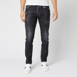 Dsquared2 Men's Sexy Mercury Jeans - Black