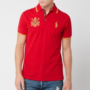 Polo Ralph Lauren Men's Slim Fit Mesh Polo Shirt - Rl 2000 Red