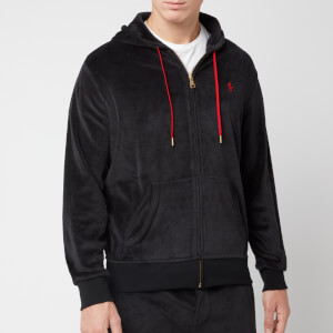 Polo Ralph Lauren Men's Velour Zip Hoody - Polo Black