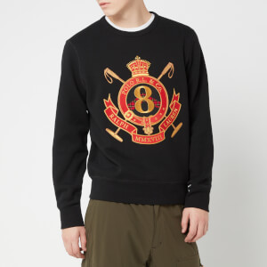 Polo Ralph Lauren Men's Embroidered Crest Sweatshirt - Polo Black