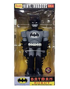 "Funko Batman Robot Vinyl 11 Inch Invaders 11"" Figure - SDCC 2012 (Black variant)"
