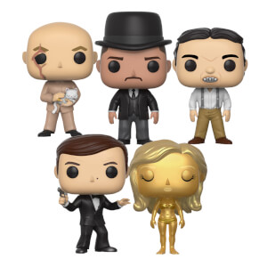 James Bond Pop! Vinyl Set of 5