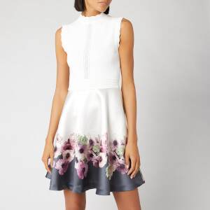 Ted Baker Women's Janyis Neopolitan Skater Dress - Ivory