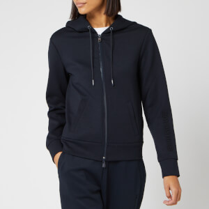 Armani Exchange Women's Zip Up Hoodie - Navy