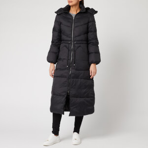 Armani Exchange Women's Long Down Coat - Black
