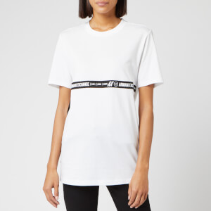 Armani Exchange Women's Logo Tape T-Shirt - White